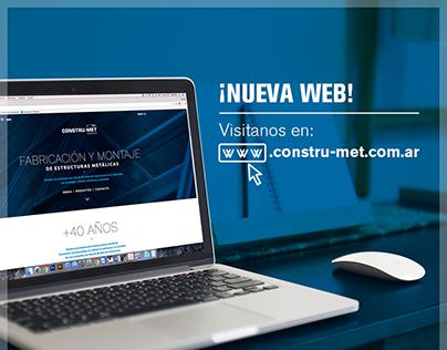 Constru-Met Website