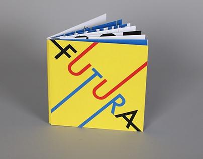Futura Font Study Book