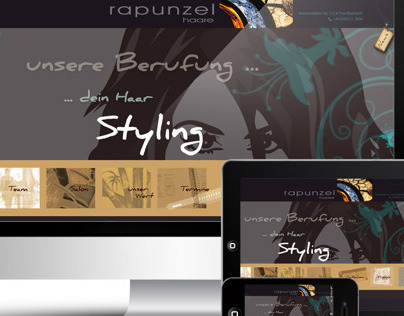 Responsive Horizontal  Web-Design