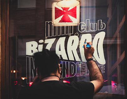 Mini Club BIZARRO's Lettering!