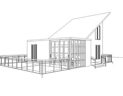 HOUSE + BALLOON FRAME