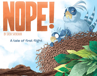 Nope! A Tale of First Flight Picture Book