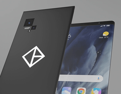 Smart Phone Concept Design and Render