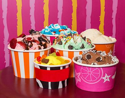 City Center Ice Cream Product Shoot 2017