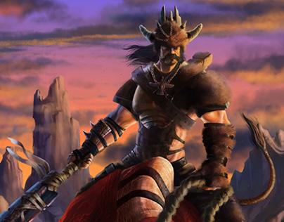 Digital Painting -Hero Characters