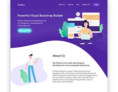 Gridbox Website Design