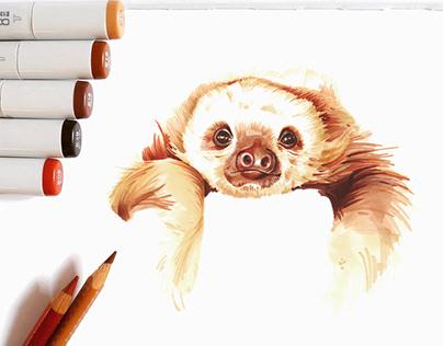 Hyperrealistic animalistic illustrations
