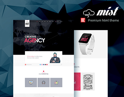Mist | Multipurpose HTML Template Theme