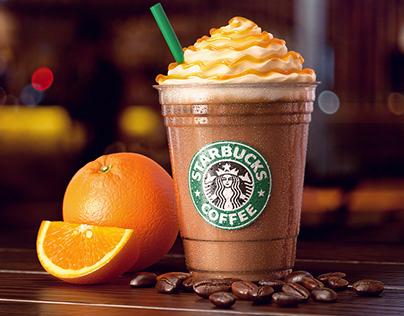 3D Product Visualization - Starbucks Iced Orange Mocha