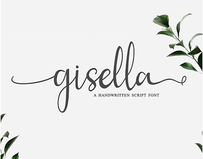 Gisella - Script Handwritten Font