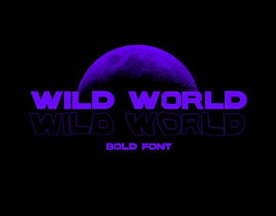 WILD WORLD | Font