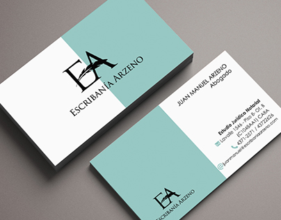 Business cards and Logotype