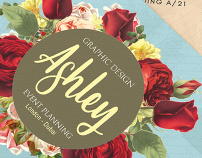 Floral Watercolor Business Card V.2