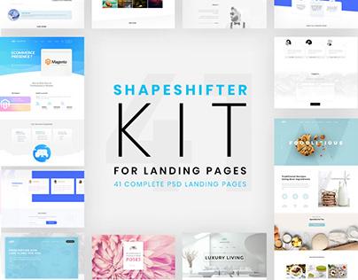 Shapeshifter Massive Landing Page Pack