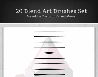 Blend Art Brush Style