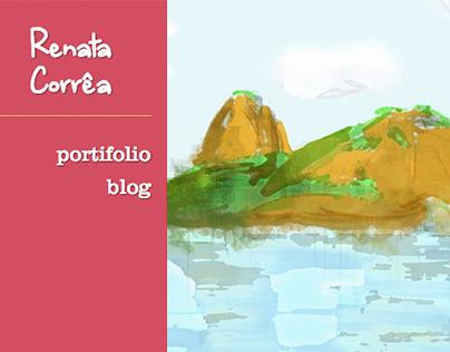 Renata Corrêa | Website