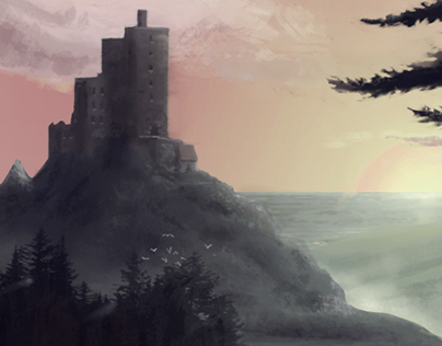 Castle Landscape Mood