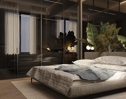 Bedroom concept. Second variation