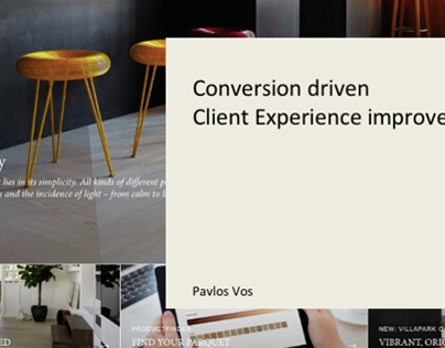 Conversion driven UX improvements