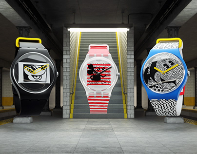 SWATCH Keith Haring x Disney