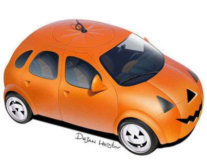 PumpkinCar