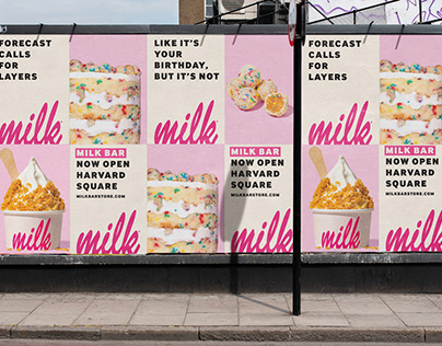 Print & Digital Campaign for Bakery Opening