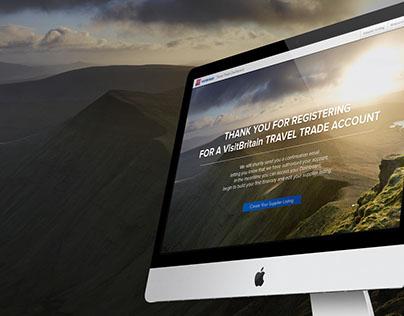 VisitBritain Trade website & app