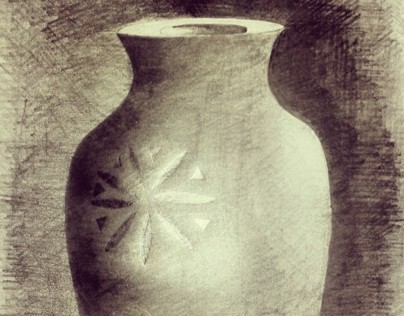 some of my drawing #vase