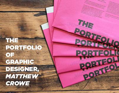 Newspaper Portfolio - Crowe About It