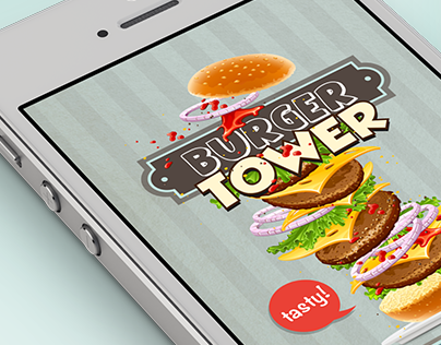 Burger Tower | Game for iOS & Android