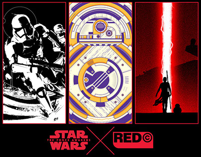 Star Wars The Force Awakens X Red Central