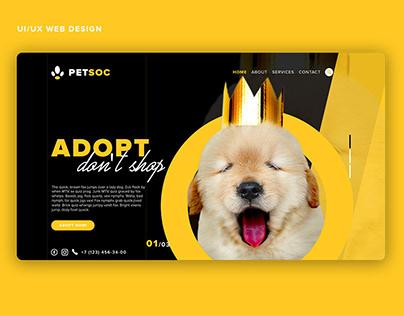 PetSoc Landing Page