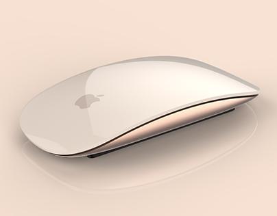 Gold Magic Mouse 2 concept