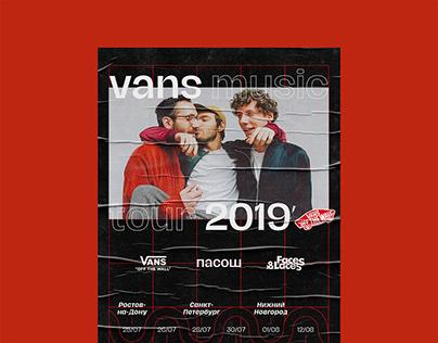 Vans Music Tour 2019