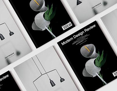 Cover Design for Modern Design Review