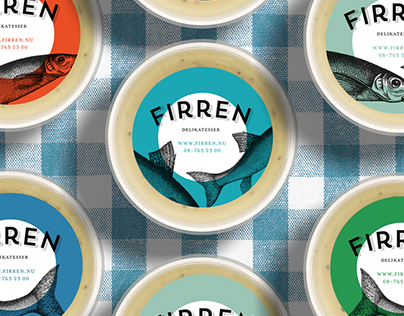 Logo and visual identity for 'Firren'