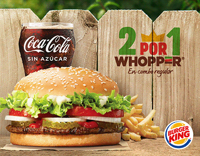 Burger King - Volante WHOPPER