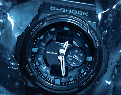 G-shock: Product photography