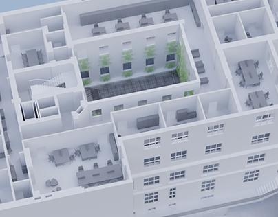 Fredry 8 building model