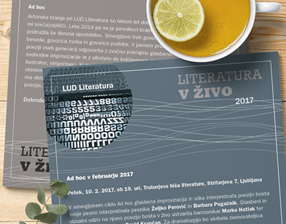 Literatura v živo/Live Literature
