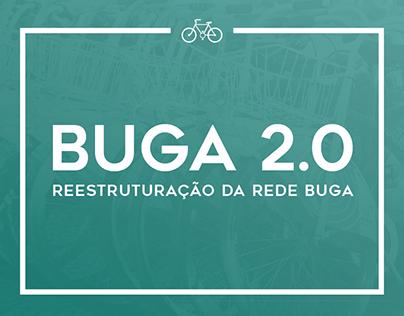 Infografia | BUGA 2.0 - Reestruturação da Rede BUGA