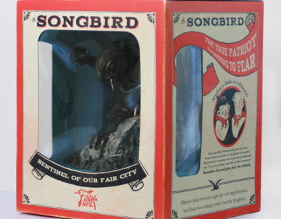 Packaging: BioShock Infinite Ultimate Songbird Edition