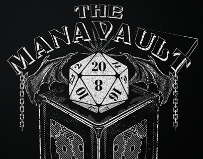 The Mana Vault - Wings Tshirt