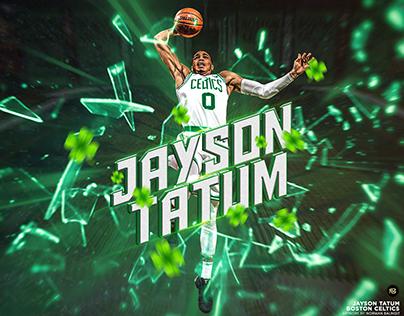 Jayson Tatum Projects Photos Videos Logos Illustrations And Branding On Behance