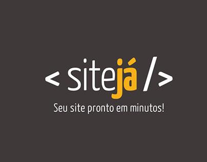 Criação do logotipo SiteJá