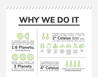 Build For Tomorrow Environmental Awareness Infographic