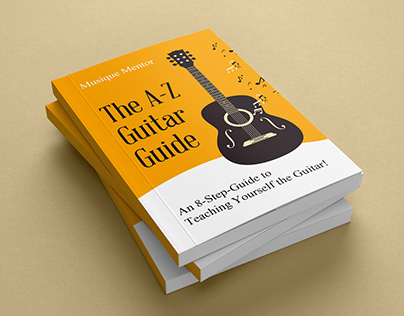 The A-Z Guitar Guide - Book Cover Design