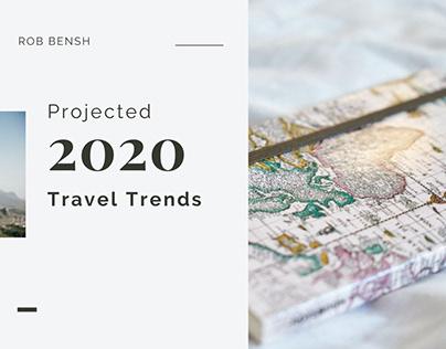 2020 Travel Trends   Rob Bensh