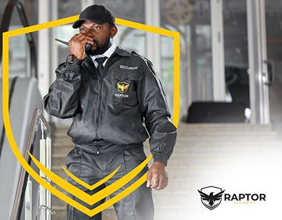 Raptor Security Logo Design