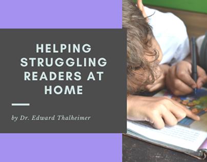 Helping Struggling Readers Pamphlet   Dr. Thalheimer